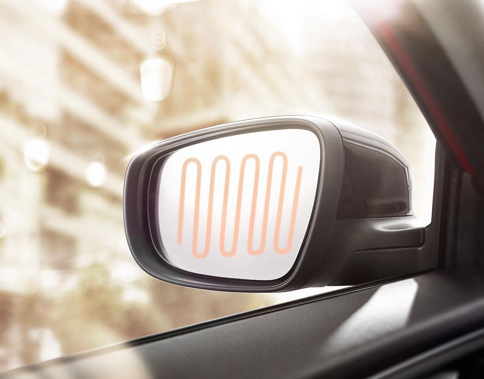 Espejos retrovisores exteriores eléctricos