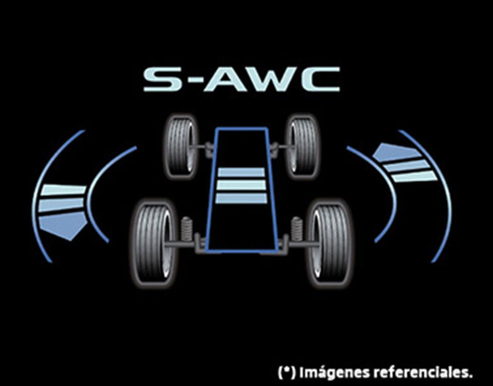DOBLE TRACCIÓN S-AWC (Super All Wheel Control)